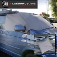 VW T5 T6 Transporter Wohnmobil Windschutzscheibe Frost Bezüge Deckel Grau 118