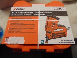 Paslode 16 Gauge Angled Cordless Finish Nailer 902400 IM250A-Li -New/Sealed-