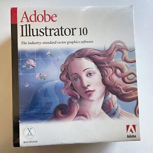 Adobe Illustrator 10 Macintosh factory sealed
