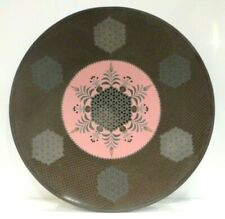 Unusual Antique GEOMETRIC Cloisonne Plate - Japanese - Chinese : Namikawa ?