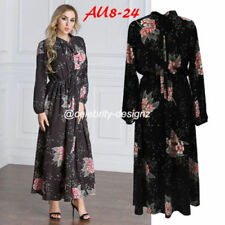 Boat Neck Party/Cocktail Floral Dresses for Women
