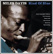 MILES DAVIS KIND OF BLUE - BLUE VINYL LP