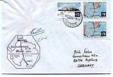 1994 Swedarp ITASE South Pole PAQUEBOT RSA Polar Antarctic Cover SIGNED