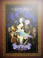 ATLUS Odin Sphere Leifthrasir Art Works JAPAN Original Hard Cover Collector Book