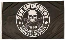2nd Amendment America's Original Homeland Security 3 x 5 Foot Flag Gun NRA Right