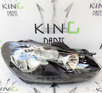 VW GOLF MK6 08-13 GENUINE COMPLETE HEADLIGHT RIGHT DRIVER SIDE 5K2941006 K #1203