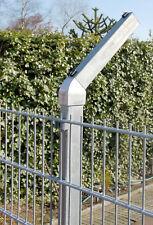 Abwinklung für Gittermatten Doppelstabzaun Stacheldrahthalter Natodraht Zäune