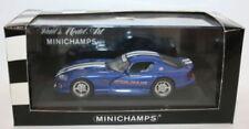 Véhicules miniatures blancs MINICHAMPS cars