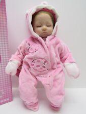 Kaydora Baby Doll Realistic Soft Baby Bell with Pink Bunny Pajamas
