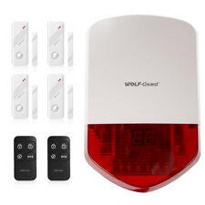 Wolf-Guard Home Alarm Security Burglar System Wireless Siren Door Sensor 433MHz