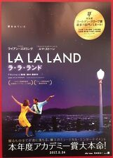 LA LA LAND ORIGINAL JAPANESE CHIRASHI MINI POSTER GOSLING