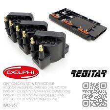 DELPHI IGNITION COILS & DFI V6 SUPERCHARGED 3.8L [HOLDEN VS-VT-VX-VY COMMODORE]