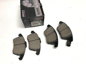 Disc Brake Pad Set-FWD Front Akebono EUR1319 for A3, TT, CC Eos GTI, Golf, Jetta