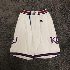 Kansas Jayhawks Adidas Mens Basketball Shorts NCAA