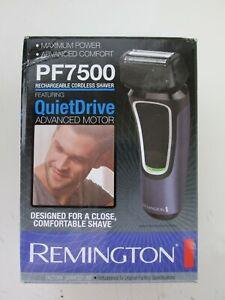 Remington PF7500 QUIET DRIVE ADVANCED MOTOR Men's  Electric Shaver NEW