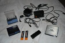 2 Sony Minidisc Players - 1 Net MD MZ-N1 MiniDisc Player and 1 MZ-E900 MD player