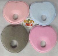 Infant Baby Memory Foam Pillow / Newborn Heart Shape Prevent Flat Head Support