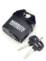 Mammoth Motorcycle Motorbike Padlock Hardened Steel Pin 62Mm Body Bike Security