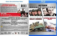 Kelly's Heroes / Where Eagles Dare ~ New Blu-ray 2-Discs ~ Clint Eastwood