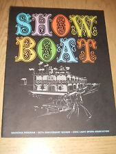 RARE 1967 Show Boat Theater Program 30th Anniversary OWNED BY EDDIE FOY JR III