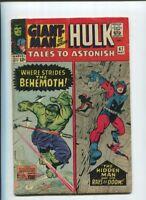 TALES TO ASTONISH #67 VG Giant-man HULK  LEE Ditko KIRBY Behemoth