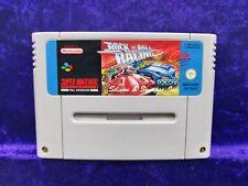 snes **ROCK 'N' ROLL RACING ## Genuine Nintendo Game Cartridge PAL