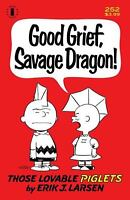 Savage Dragon # 252 2nd Ptg Charlie Brown Parody Variant Cover