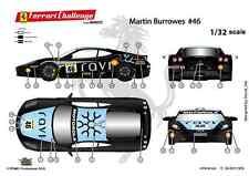 "[FFSMC Productions] Decals 1/32 Ferrari F-430 Challenge ""RAVI""de Martin Burrowes"
