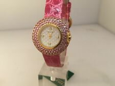 ROLEX CELLINI GOLD & PINK SAPPHIRE LADIES WATCH 6201/8!!! $30,500 RETAIL!!!