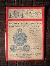 VADEMECUM AUTOMOBILISTA Scuola Guida Privata EDIZIONI ORIOR 1929