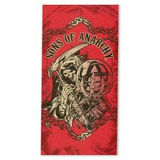 SONS OF ANARCHY Jumbo BEACH TOWEL - TV Series Man Cave Motor Bike Gym