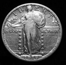 1918-S STANDING LIBERTY SILVER QUARTER ***VERY NICE*** SCARCE! FREE SHIPPING!