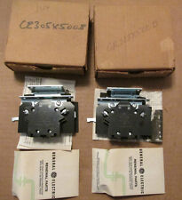 NEW NOS LOT OF 2 GE General Electric CR305X500B Base Auxilary Contact Kit