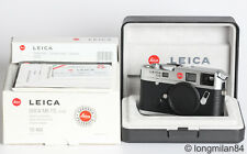 *EXC++* Leica M6 TTL 0.85 Silver Chrome Rangefinder Camera body 10466 w/box #1