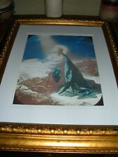 "C.T. Russell PHOTO-DRAMA of Creation Photo ""Jesus Praying"" Watchtower IBSA"