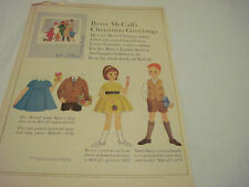 Vintage Betsy McCall Paper Doll 1962 December 48 yr old