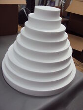 Arts & Crafts Circle Dummy Cake Polystyrene for Parties