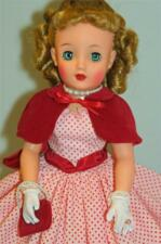 "NEW White Wristlet Gloves wLace Trim for 18"" 20"" Miss Revlon Vintage Dolls"