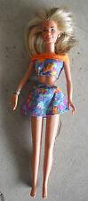 "1997 Viacom Hasbro Blonde Girl Doll 11"" Tall"