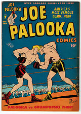 JOE PALOOKA #7 6.0 OFF-WHITE TO WHITE PAGES GOLDEN AGE