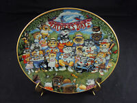 """Purrfect Pops"" Franklin Mint Collector's Plate, LA2141, FREE SHIPPING!"