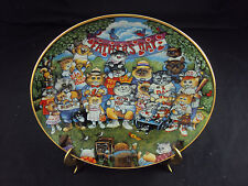 """""""Purrfect Pops"""" Franklin Mint Collector's Plate, La2141, Free Shipping!"""