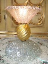 LAMPE ANCIENNE DES ANNEES 1950 EN VERRE DE MURANO/VINTAGE MURANO LAMP/N°B4