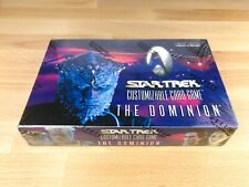 Star Trek CCG 1e The Dominion Booster Box, sealed, OVP