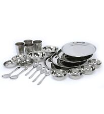 Stainless steel dinner set of 24 pcs -Free Shipping