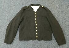 Civil War Reenactor Confederate States Enlisted Shell Jacket Dark Blue