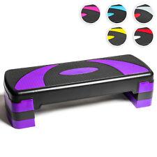 Stepper aérobic Step fitness ajustable à 3 niveaux pour Maison/Gym/Workout/Yoga