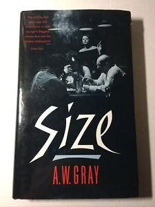 """A W GRAY / """"Size"""" London Novel Gambling 1990"""