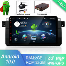 32GB DAB+ Autoradio Für BMW E46 3er 318 320 325 Android 10.0 GPS Nav BT STEREO