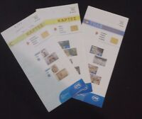 GREECE 3 CATALOQUES SHOWING THE GREEK PHONECARDS ISSUED FROM 1/2012-12/2012 USED